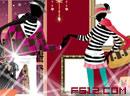 Fashion Models Shopwindow