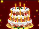 New Year Cake Decoration