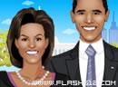 Obama Couple Dress Up