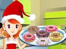 Christmas Doughnut Cookies