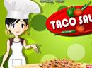 Sara's Cooking Class: Taco Salad
