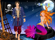 PIRATE AND MERMAID DRESS UP