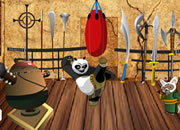 Kung Fu Panda Training Room Decor