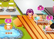 Exotic spa resort