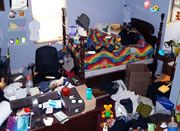 Messy Bedroom