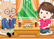 Grandparents Sushi Date Dress Up