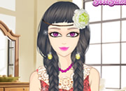 Lace Girl Make Up