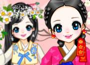 Traditional Korean Cutie