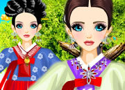 Modern korean wedding dresses is a dress up game by i dressup free