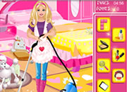 barbie-cleaning-slacking