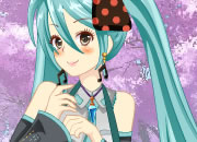 Hatsune Miku from Vocaloid Dress Up