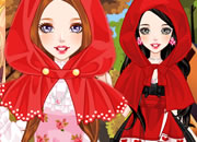 Little Red Riding Hood in Lolita Style