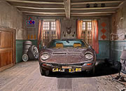 Desolate Car Shed Escape