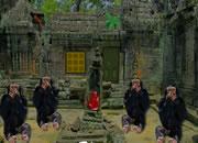 Monkey Temple Escape