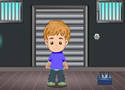 Small Boy Factory Escape