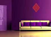 Dark Purple House Escape