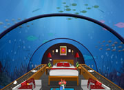 Underwater Restaurant Escape