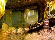 Gold Mine Trapped Escape