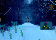 Christmas Creepy Forest Escape