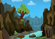 Forest Mountain River Escape