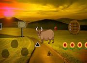 Fantasy Bull Land Escape