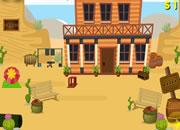 Cowboy Escape With Horse