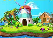 Island Wind House Escape
