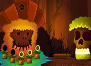 Fantasy Skull Forest