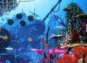 Underwater King Crab Rescue