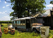 Abandoned Truck Yard