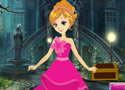 Beautiful Blonde Princess Escape