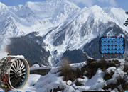 Plane Crash In Snow Escape