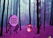 Fantasy Purple Forest Escape