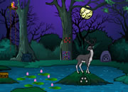Halloween Deer Hunting Forest Escape
