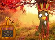 Turkey Emoji Forest Escape
