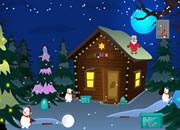 Christmas Red Cardinal Escape