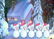 Hiding Santa Gift Escape