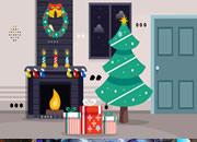 Christmas Fireplace Quick Escape