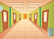 Hallway Many Doors Escape
