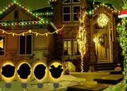 Christmas Lights Street Escape
