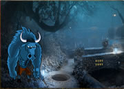 Bison Fantasy Forest Escape