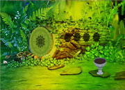 Fantasy Emerald Treasure Escape