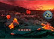 Volcano Treasure Hunt Escape