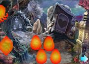 Cartoon Mushroom Escape