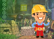 Cheerful Plumber Escape