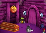 Halloween Mysterious Door Escape