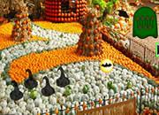 Pumpkin Garden Girl Escape