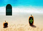 Halloween Dracula Beach Escape