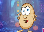 Cartoon Potato Escape