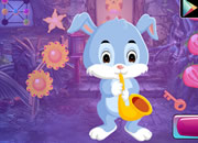 Saxophone Playing Bunny Escape